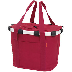 KlickFix Reisenthel Fietsmand, red